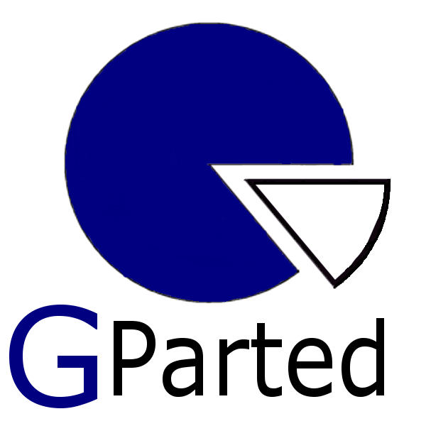 GParted 1.0.0-4 - USB-Stick
